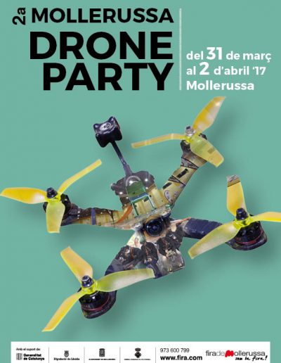 Mollerussa Drone Party 2017