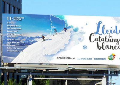 Campanya d'hivern 2015 Ara Lleida