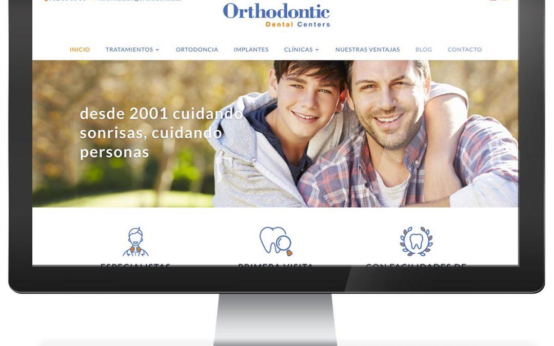 Disseny web clínica dental Orthodontic