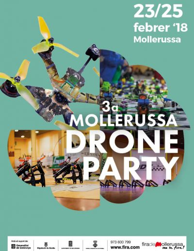 Mollerussa Drone Party 2018