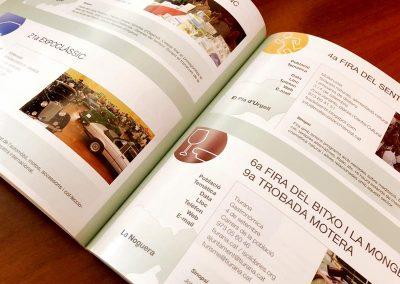 Diseño Guía de Ferias 2018 de la Diputació de Lleida