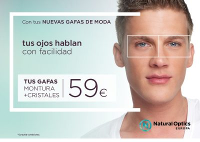 Campaña 2018 ópticas Natural Optics