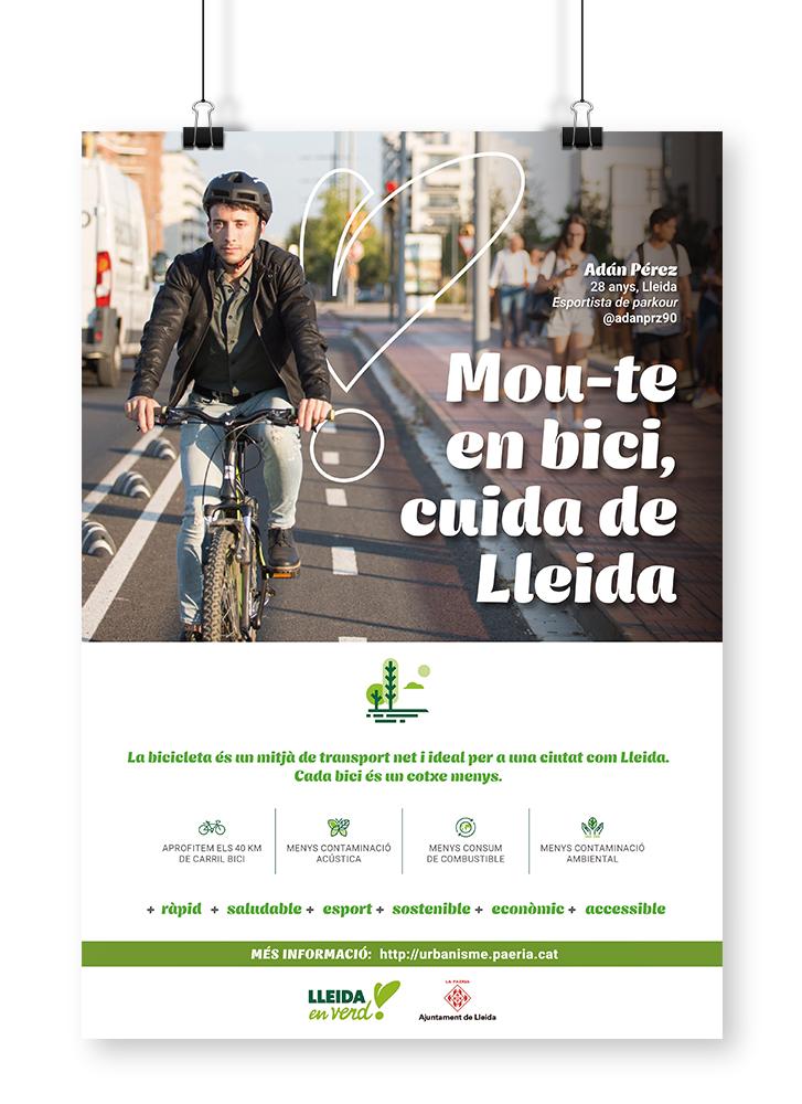 Campanya de mobilitat sostenible Ajuntament de Lleida