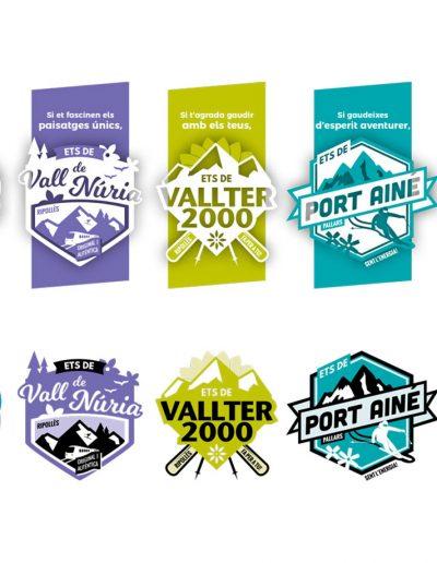 Campanya d'hivern per les estacions d'esquí de la divisió de Turisme i Muntanya del Grup Ferrocarrils de la Generalitat de Catalunya