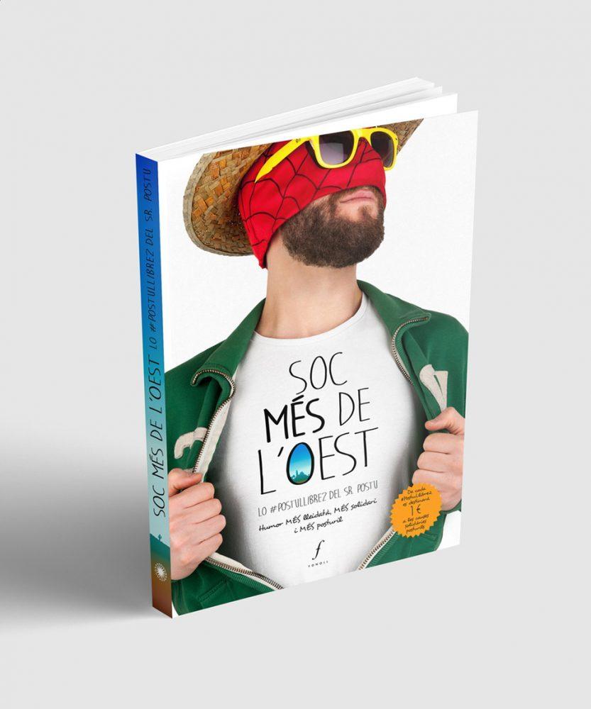 """Il·lustració i maquetació llibre """"Soc més de l'Oest"""""""