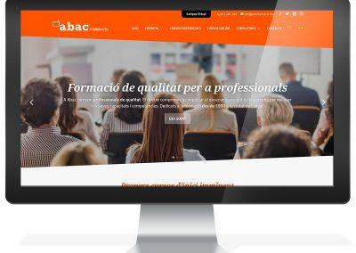 Diseño web Abac Formació